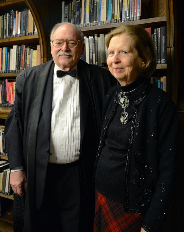Charles Brock with wife, Carolyn