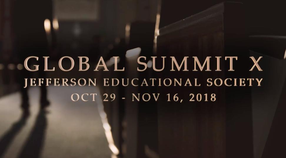 Global Summit 2018 Speakers Announced