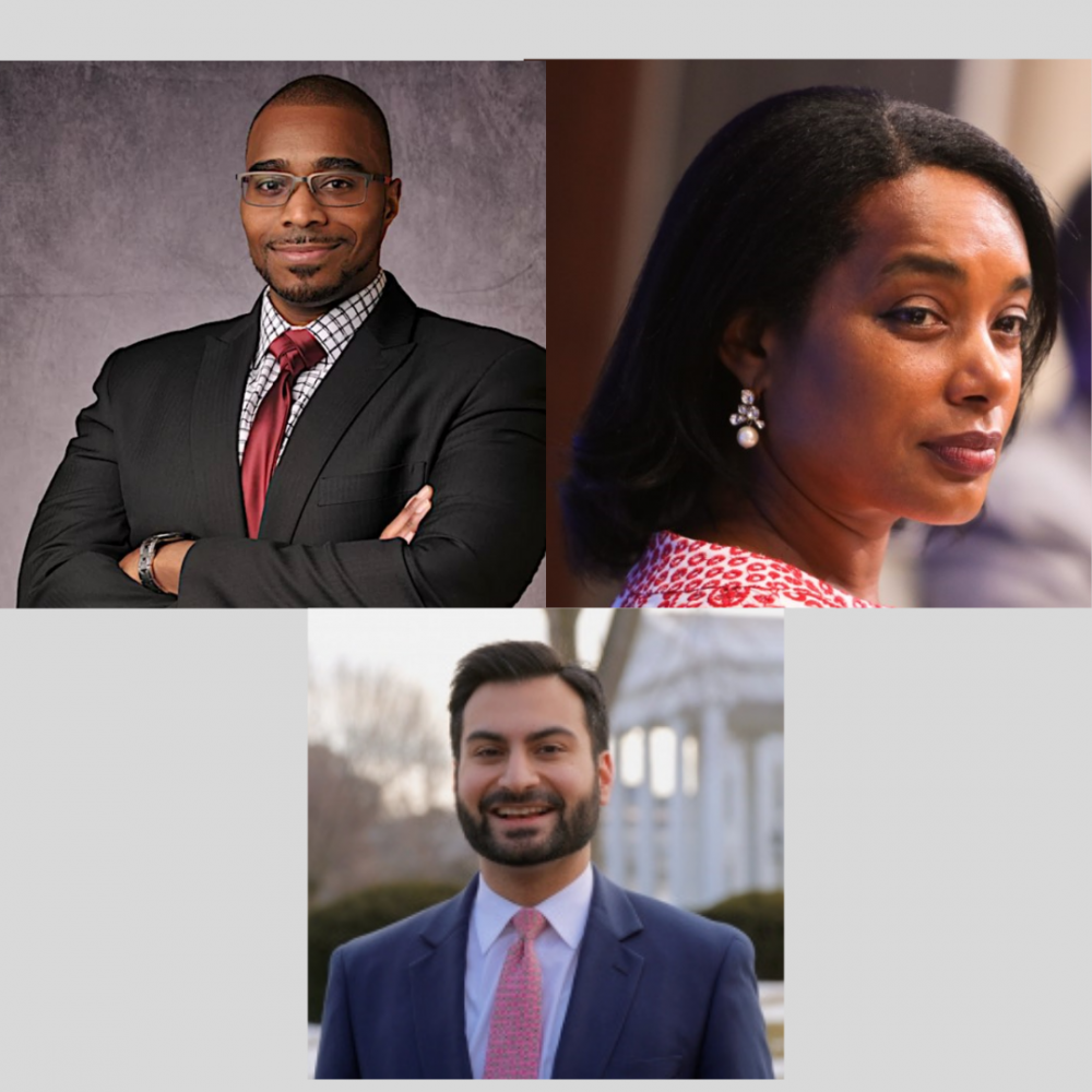 Do you know Camille Busette, Rashawn Ray, and Ali Zaidi?