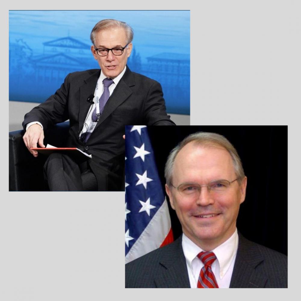 Do you know David Ignatius or Ambassador Christopher Hill?