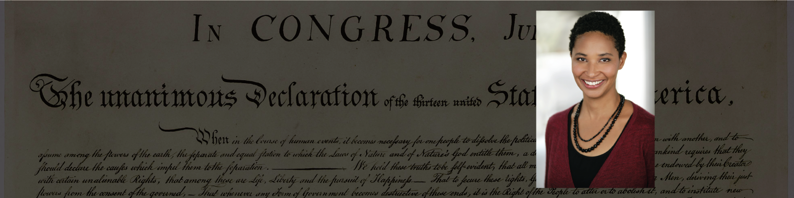 Reading the Declaration of Independence in Defense of Equality with Danielle Allen